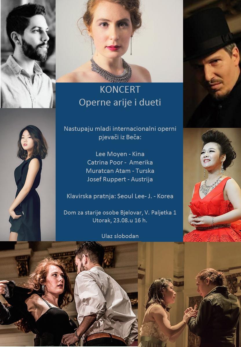 Koncert operne arije i dueti